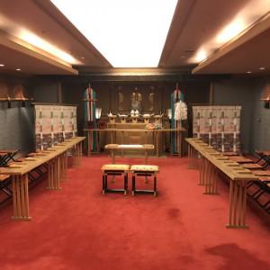 神前式の挙式会場|527896さんの「高輪 貴賓館」 グランドプリンスホテル高輪の写真(759399)