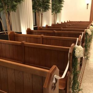挙式会場。ゲスト席。|529079さんのヴィラ・グランディス ウェディングリゾート 福井の写真(764207)