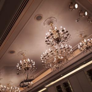 シャンデリアもおしゃれでした。 529240さんの新横浜グレイスホテル/ Roseun Charme ( ロゼアン シャルム )の写真(767072)