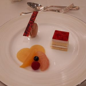 デザートも美味しかったです 529240さんの新横浜グレイスホテル/ Roseun Charme ( ロゼアン シャルム )の写真(767078)