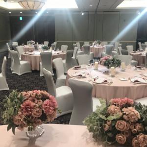 色味次第で主催者の雰囲気を出せます。|529434さんのウェスティンホテル東京の写真(759510)