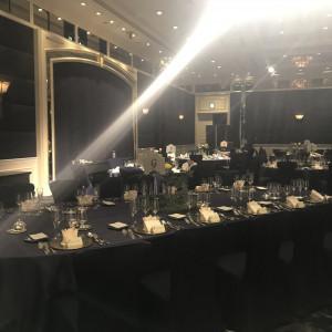 テーブルサイズも相談可能です。|529434さんのウェスティンホテル東京の写真(759507)