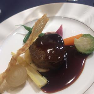料理長自ら説明されます。|529434さんのウェスティンホテル東京の写真(759512)