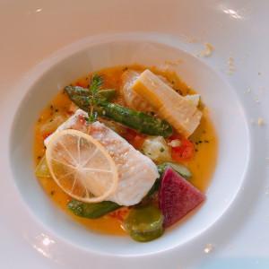 魚料理|529451さんのサンス・エ・サヴール(ひらまつウエディング)の写真(758522)
