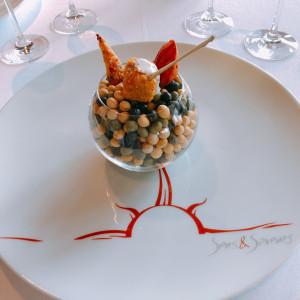 前菜|529451さんのサンス・エ・サヴール(ひらまつウエディング)の写真(758521)