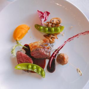 肉料理|529451さんのサンス・エ・サヴール(ひらまつウエディング)の写真(758520)