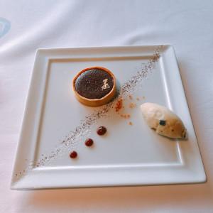 チョコレート|529451さんのサンス・エ・サヴール(ひらまつウエディング)の写真(758524)