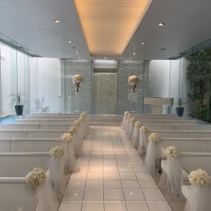 幻想的な雰囲気です。|529605さんのアクアテラス迎賓館  大津(テイクアンドギヴ・ニーズ)の写真(759587)