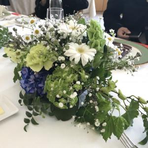 各テーブルの花|529669さんの音羽倶楽部の写真(760364)