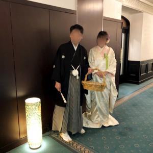 会場前でお見送り|530232さんのRoyal Garden Palace 八王子日本閣の写真(769327)