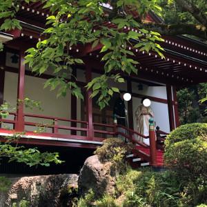 神殿前のロケーション撮影|530232さんのRoyal Garden Palace 八王子日本閣の写真(769303)