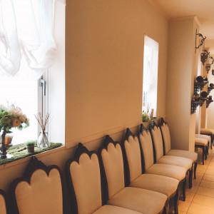 挙式会場から披露宴会場までの廊下 530395さんのアニヴェルセル 江坂の写真(764517)