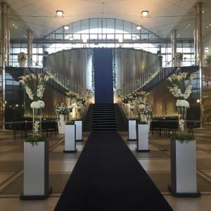 二部構成の挙式会場です。|530649さんのグランドニッコー東京 台場の写真(766538)