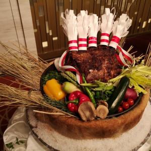 お肉カットのお肉の写真です。|531396さんのヨコハマ グランド インターコンチネンタル ホテルの写真(771582)