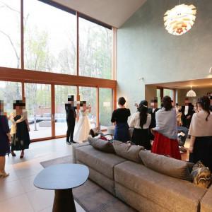 乾杯の様子|531803さんの星野リゾート 軽井沢ホテルブレストンコートの写真(778614)