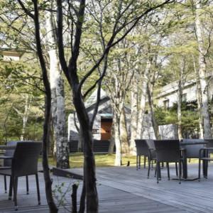 中庭|532660さんの旧軽井沢 キキョウ, キュリオ コレクション バイ ヒルトン(元:旧軽井沢ホテル)の写真(782560)