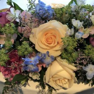 装花|532660さんの旧軽井沢 キキョウ, キュリオ コレクション バイ ヒルトン(元:旧軽井沢ホテル)の写真(782554)