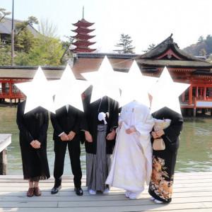 全員で写真をとりました|532943さんの厳島神社の写真(961287)