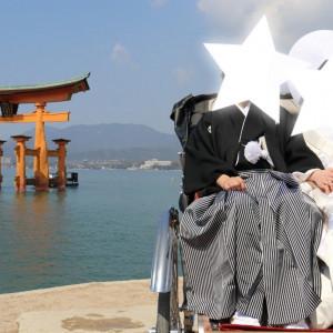 人力車|532943さんの厳島神社の写真(961264)