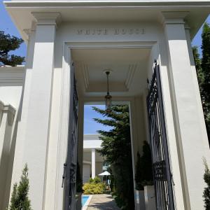 ホワイトハウス入口 533478さんのガーデンヒルズ迎賓館(松本)の写真(788089)