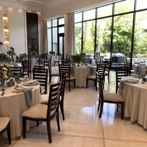 ヴィクトリアハウスの披露宴会場のガーデン 533478さんのガーデンヒルズ迎賓館(松本)の写真(788102)