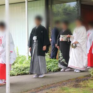 参進の儀(雨天)|533547さんの軽井沢プリンスホテル  フォレスターナ軽井沢の写真(788673)