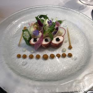 オマールエビを使ったメイン料理!|533913さんのアニヴェルセル神戸の写真(791490)