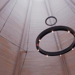 八角形のチャペルの天井 534563さんのラ・クラリエールの写真(795900)