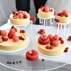 かわいいウェディングケーキ|535508さんのアンティカ・オステリア・デル・ポンテの写真(802168)