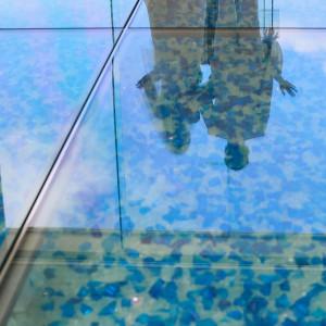 琉球ガラス|536320さんのルネッサンス・リベーラ教会(ルネッサンスリゾートオキナワ内)チュチュリゾートウエディングの写真(806903)