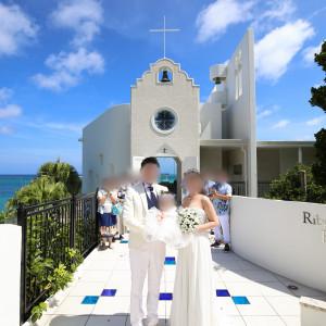 チャペル|536320さんのルネッサンス・リベーラ教会(ルネッサンスリゾートオキナワ内)チュチュリゾートウエディングの写真(806872)