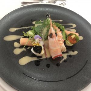 前菜の1つです。|537086さんのL'Atelier de Fiona(ラトリエ ドゥ フィオナ)の写真(812812)