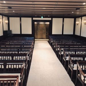 チャペル、牧師さんから見た側|538191さんのザ ソウドウ 東山京都(THE SODOH HIGASHIYAMA KYOTO)の写真(819949)