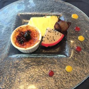 デザート例 538546さんのヴォヤージュ ドゥ ルミエール ~Chatan Resort~の写真(822226)