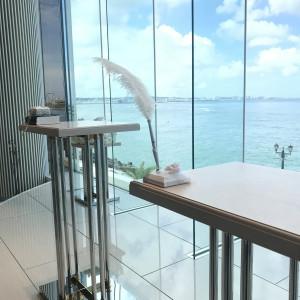 高さのあるチャペル 538546さんのヴォヤージュ ドゥ ルミエール ~Chatan Resort~の写真(822217)
