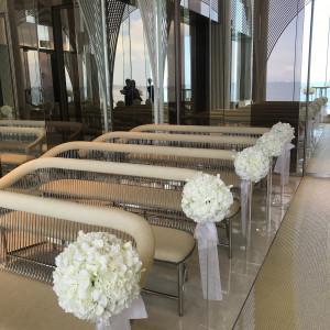 祭壇からの眺め 538546さんのヴォヤージュ ドゥ ルミエール ~Chatan Resort~の写真(822218)
