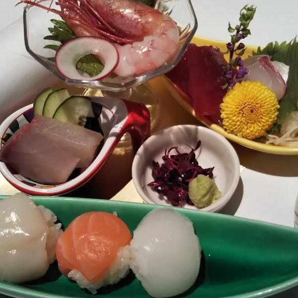 和食の試食プレート