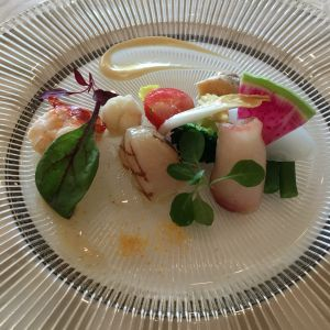 前菜です。 543351さんのけやき坂 彩桜邸 シーズンズテラスの写真(858725)