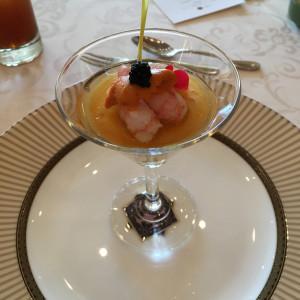 前菜です。 543351さんのけやき坂 彩桜邸 シーズンズテラスの写真(858720)