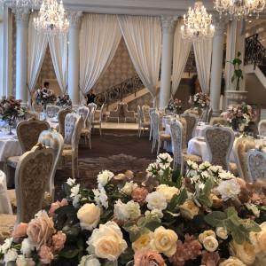 新郎新婦から見た披露宴会場です|543861さんの京都 アートグレイス ウエディングヒルズの写真(866233)