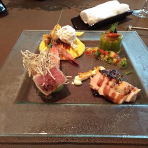 海鮮とお肉のバランス、彩り豊かなお料理。 546331さんのブランヴェールアベニュー熊本の写真(884595)