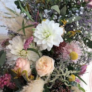 新婦の雰囲気ともあった素敵な装花でした|547035さんのアーヴェリール迎賓館(名古屋)の写真(892480)