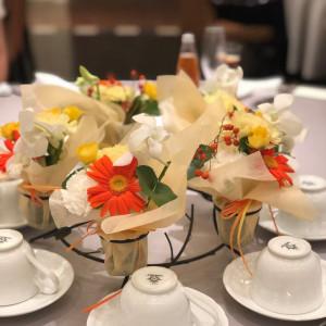 ゲストテーブル|548885さんの冠稲荷神社 宮の森迎賓館 ティアラグリーンパレスの写真(905937)