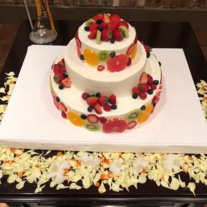 オリジナルケーキ|548885さんの冠稲荷神社 宮の森迎賓館 ティアラグリーンパレスの写真(905940)