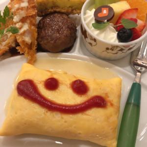 子供料理|548950さんのスタイリッシュウェディング ヴィーナスコート長野の写真(906291)