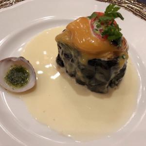 前菜|548950さんのスタイリッシュウェディング ヴィーナスコート長野の写真(906286)