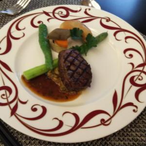 お肉料理|548971さんの赤坂ル・アンジェ教会の写真(928698)