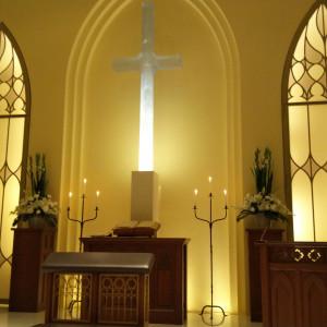 幻想的な雰囲気|548971さんの赤坂ル・アンジェ教会の写真(928702)