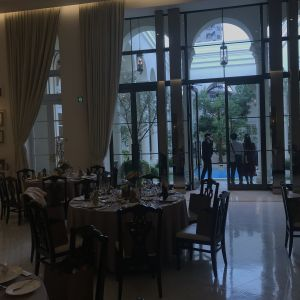 ガーデンからも階段からも入場ができ、インパクト大!!|549020さんのアーヴェリール迎賓館(名古屋)の写真(910956)