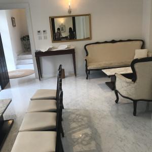 新郎、新婦側と分かれて待機できるのが良い。|549020さんのアーヴェリール迎賓館(名古屋)の写真(910960)